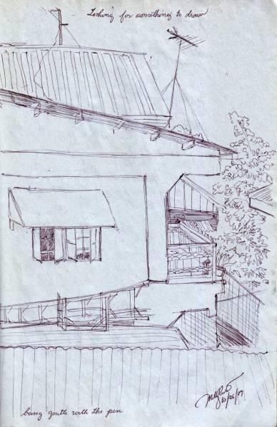 Rooftop Sketch